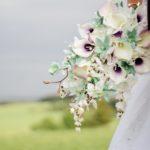 Purple and mint bouquet