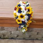 Rustic country artificial bouquet